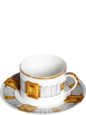 Taitù Set of 2 Tea/Coffee Cups & Saucers - Forever Collection