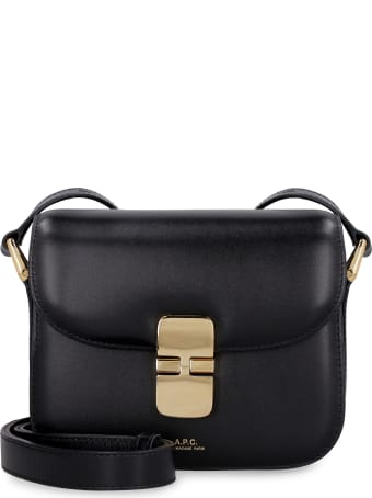 A.P.C. Grace Leather Mini Crossbody Bag