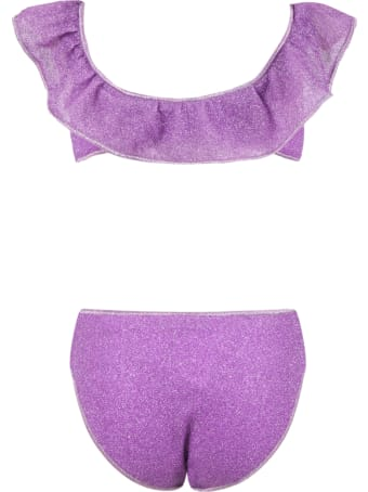 Oseree Purple Swimsuit For Girl