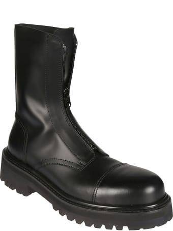 VETEMENTS Zip-up Combat Boots