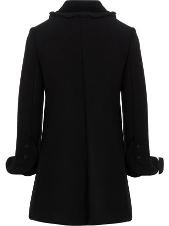 RED Valentino Rouched Coat