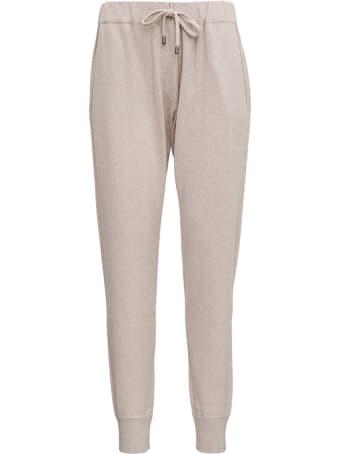 Brunello Cucinelli Beige Cashmere Trousers
