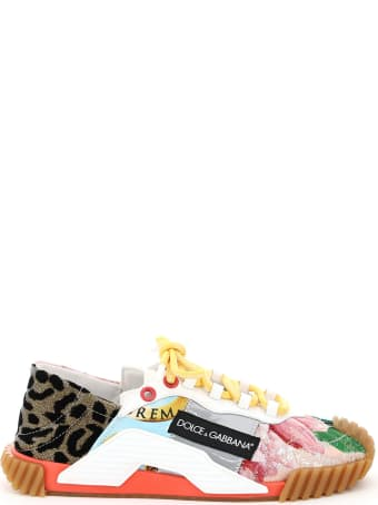 Dolce & Gabbana Sn1 Patchwork Sneakers