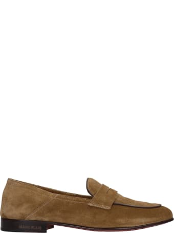 Marc Ellis Loafers In Leather Color Suede