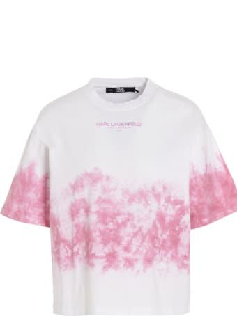 Karl Lagerfeld 'tie & Dye Logo' T-shirt
