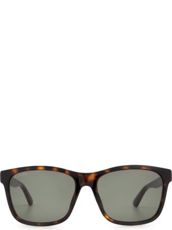 Gucci Gucci Gg0746s Havana Sunglasses