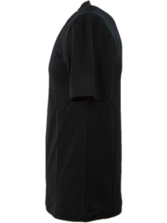 Cruciani Black Cotton T-shirt