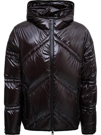 Bottega Veneta Brown Shiny Nylon Down Jacket