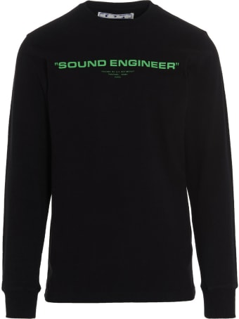 Off-White 'console L/s' Capsule Pioneer T-shirt