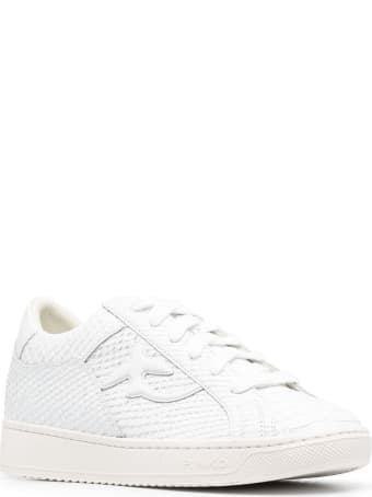 Pinko Licorice Low Leather Sneakers