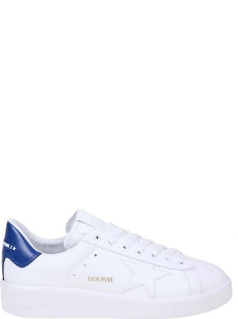 Golden Goose Pure Star Sneakers In Leather