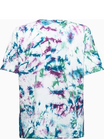 Aries Temple Tie-dye Ss T-shirt Fsar60300 Aries