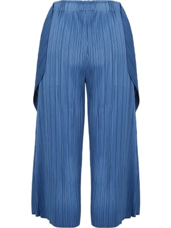Pleats Please Issey Miyake Pleated Trousers