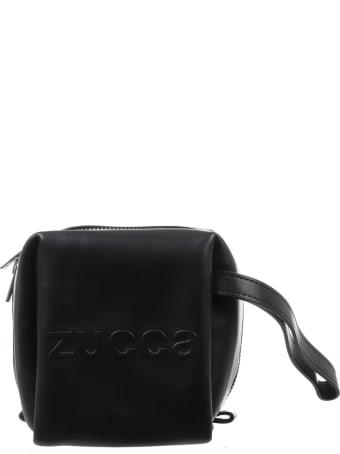 Zucca Black Cube Bag