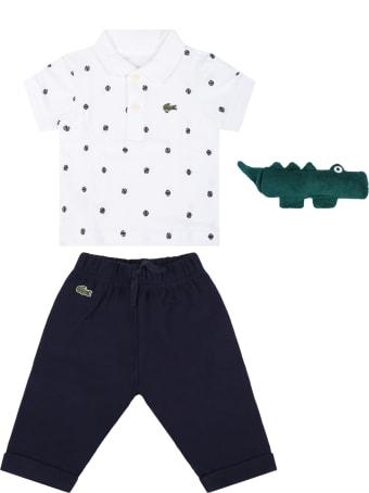 Lacoste Multicolor Set For Baby Boy