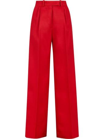 Fendi Fendi Silk And Wool Trousers
