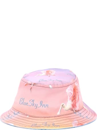 Blue Sky Inn Reversible Bucket Hat