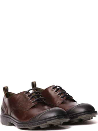 Pezzol 1951 Brown Leather Lace-up Shoes