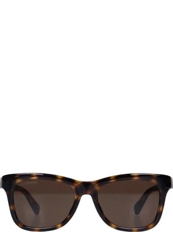 Balenciaga Sunglasses In Brown Acrylic