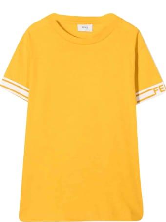 Fendi Yellow T-shirt