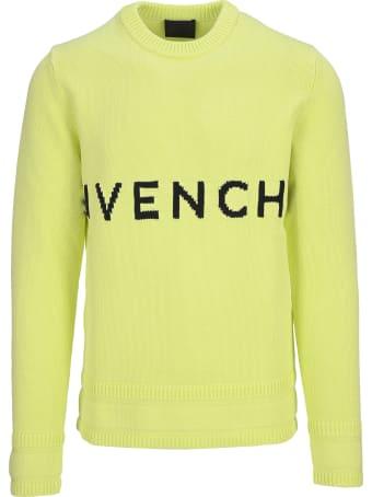 Givenchy 4g Intarsia Knitted Logo Jumper