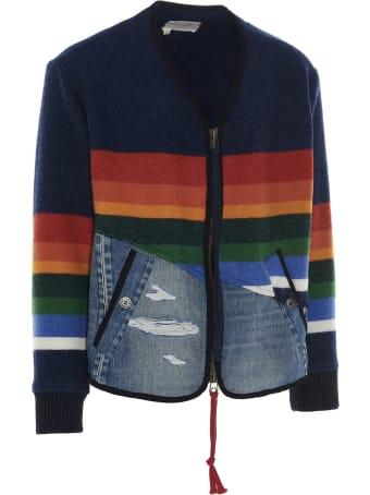 Greg Lauren '50/50 Modern Flight' Jacket