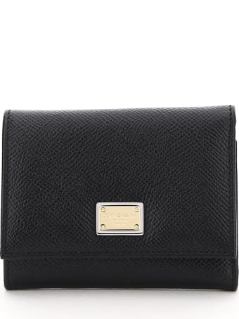 Dolce & Gabbana French Flap Wallet