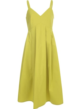 Sofie d'Hoore Pleated Strap Dress