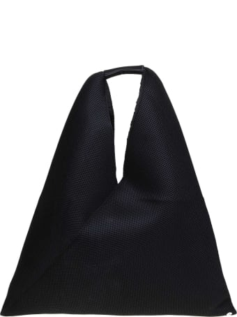 MM6 Maison Margiela Japanese Bag In Black Fabric