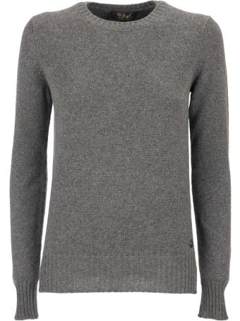 Loro Piana Crewneck Baby Cashmere Blue Sweater