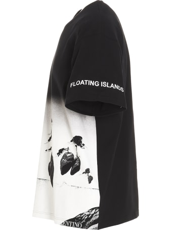Valentino 'floating Island' T-shirt