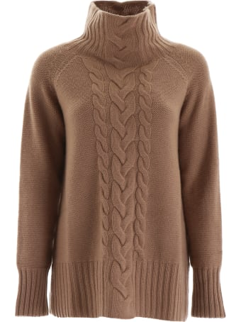 'S Max Mara Here is The Cube Cable Knit Pull