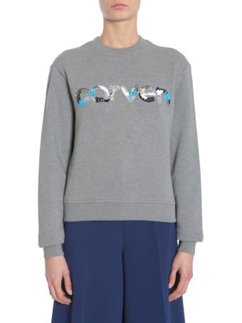 Carven Round Collar Sweatshirt