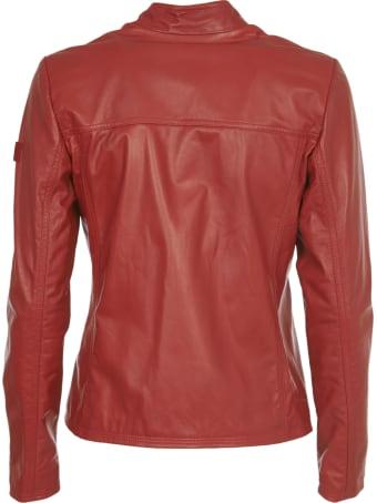 Peuterey Red Biker Jacket