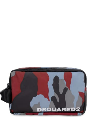 Dsquared2 Nylon Wash Bag