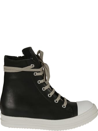 Rick Owens Hi-top Lace-up Sneakers