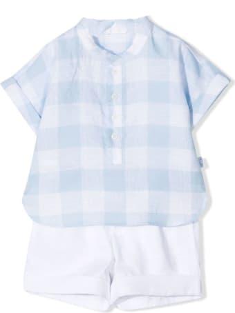 Il Gufo Complete Shirt And Bermuda