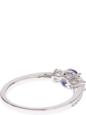 Swarovski Attract Trilogy Ring Size 58