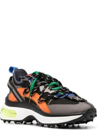 Dsquared2 Man Multicolor Bubble Sneakers