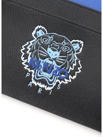 Kenzo Tiger Print Card Holder