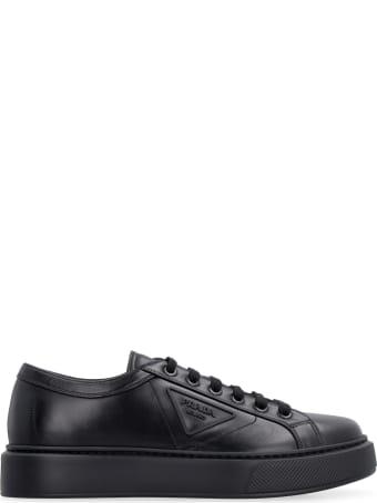 Prada Leather Low-top Sneakers