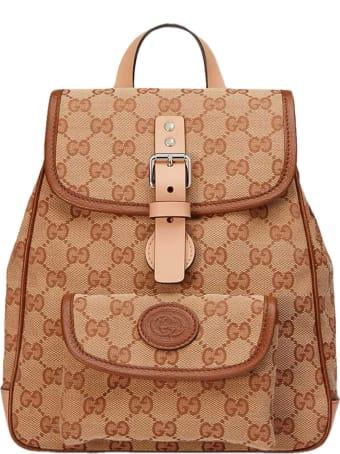 Gucci Beige Backpack