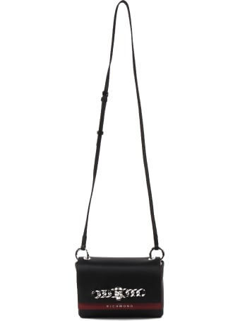 John Richmond Logo-embossed Crossbody Bag