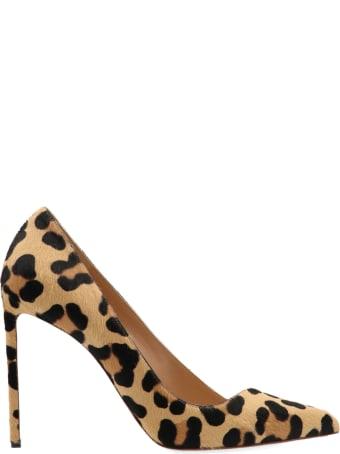 Francesco Russo 'leopard Pony' Shoes