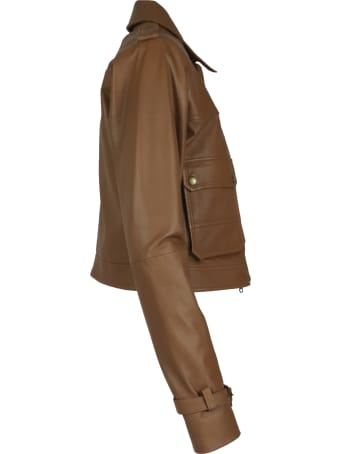Andrea D'Amico Zulema Leather Jacket
