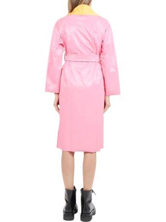 Maisie Wilen Pink Salon Coat