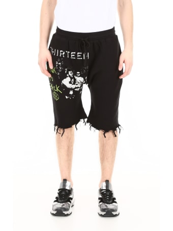 R13 Printed Shorts