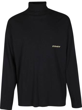 AMBUSH Black Cotton Sweatshirt