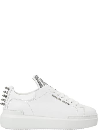 Philipp Plein White Lo-top Sneakers Statement