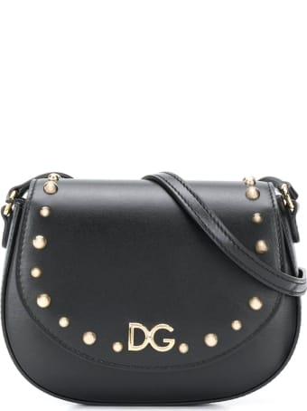 Dolce & Gabbana Black Shoulder Bag Cahier Model Dolce&gabbana Kids